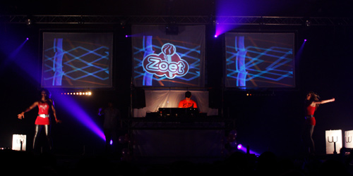 VJing Zoet Indoor